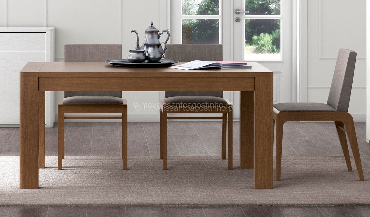 Image of: Mesa Jantar Vega Extensivel Com 1 60
