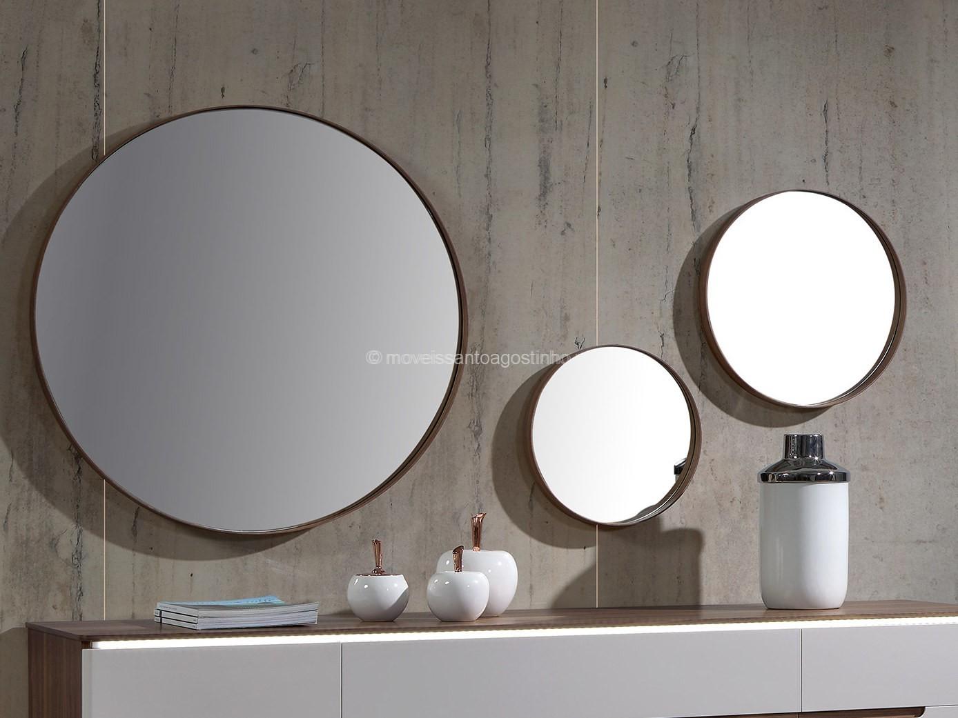Espelhos redondos Kenzo