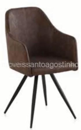 Cadeira  Ref. 8394/14 - Castanho