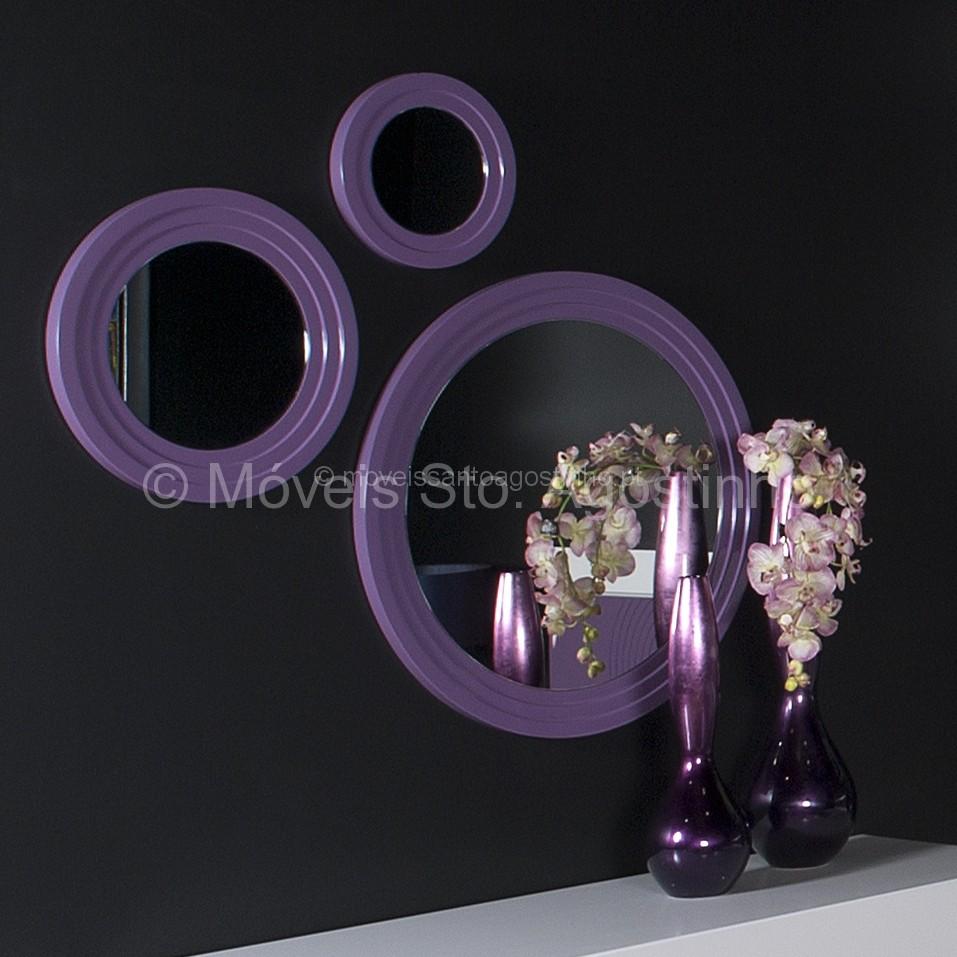 Espelhos em Circulos